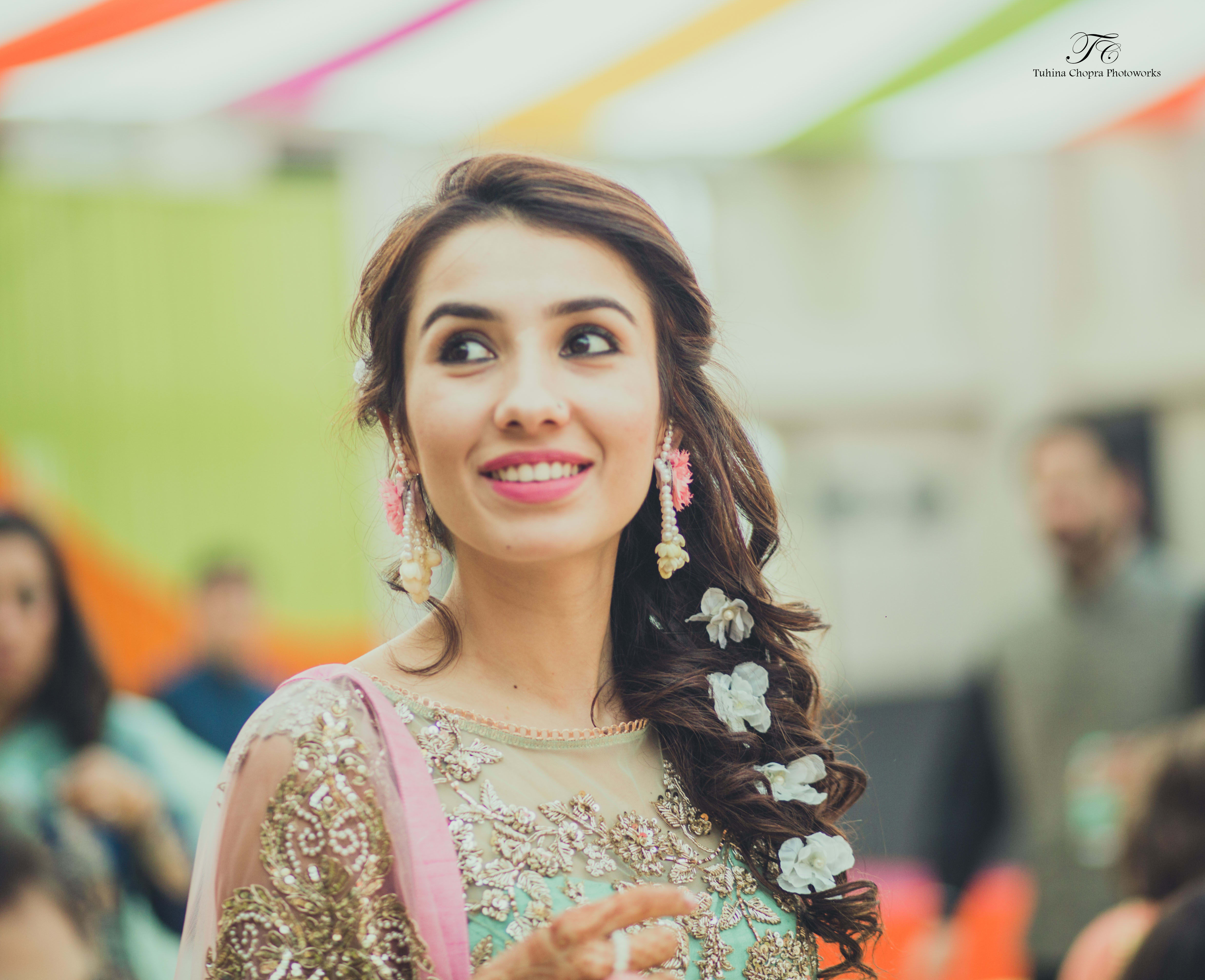 bride and sangeet:tuhina chopra photoworks