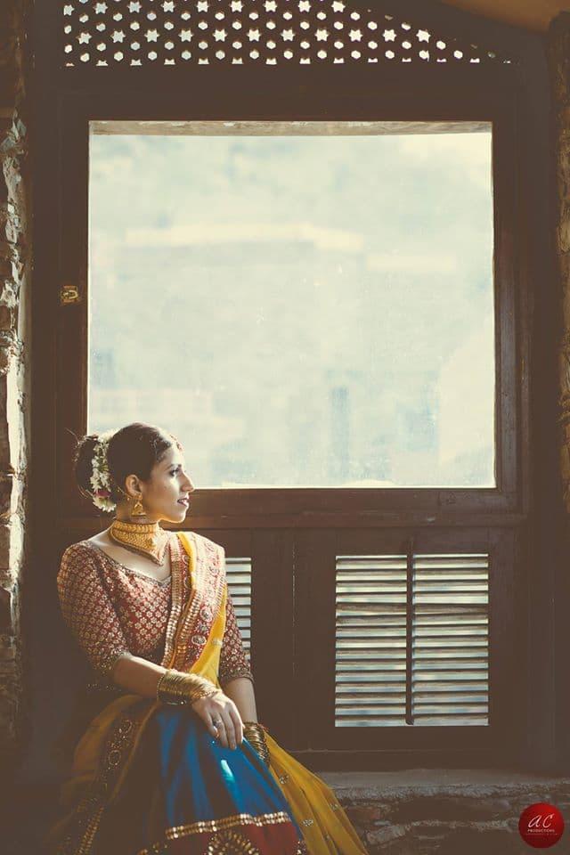 bridal shoot: