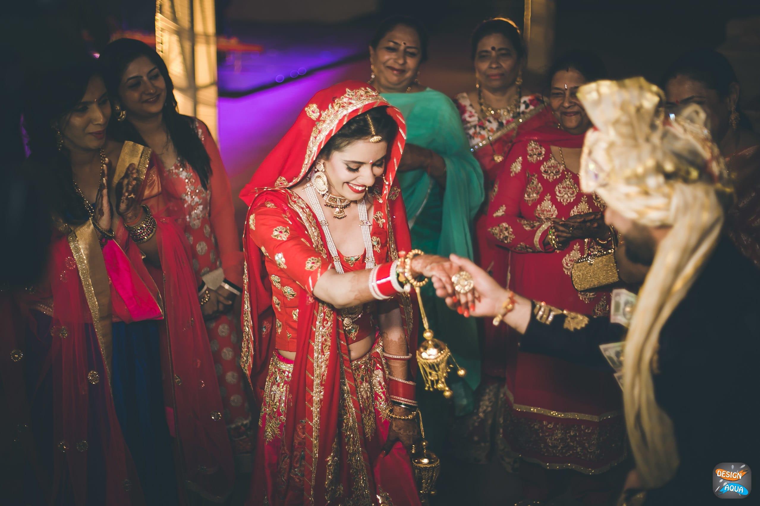 bridal shoot:design aqua, asiana couture, rani pink