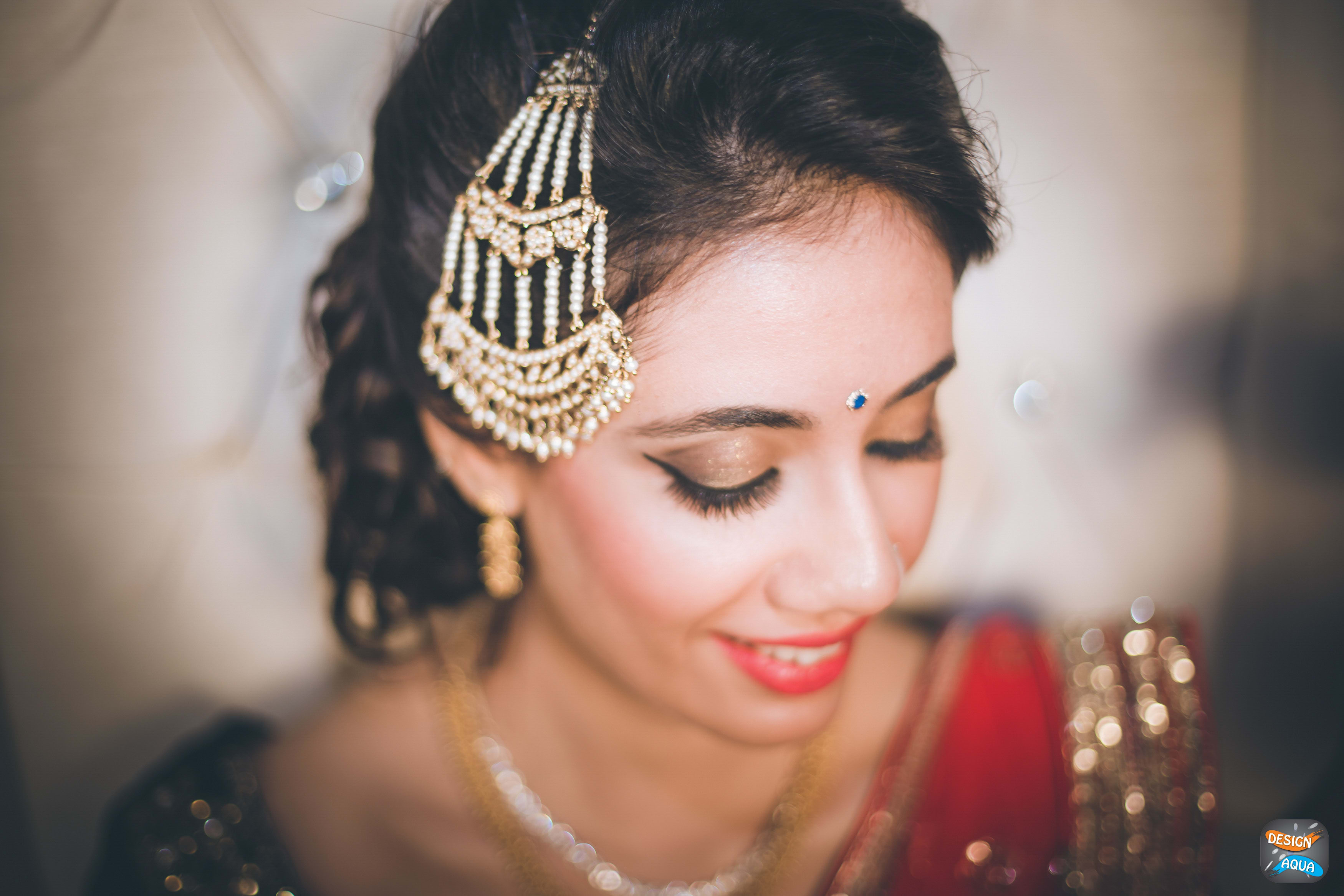 bridal jewelry shot:design aqua, asiana couture, rani pink