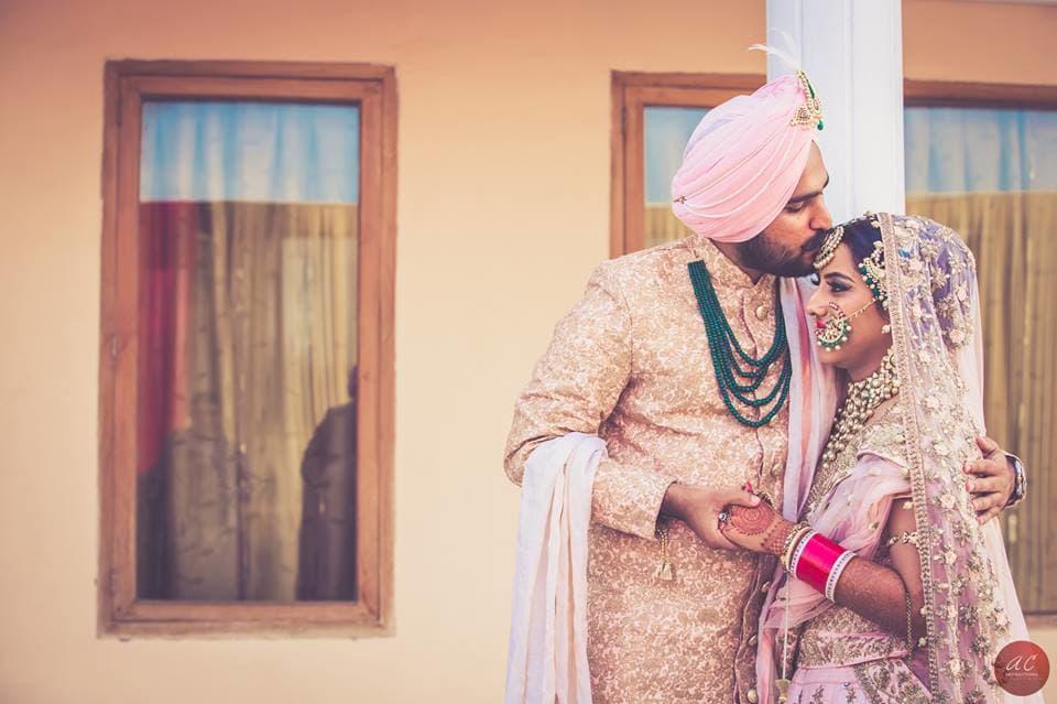 bride and groom shot:sabyasachi couture pvt ltd, art capture production