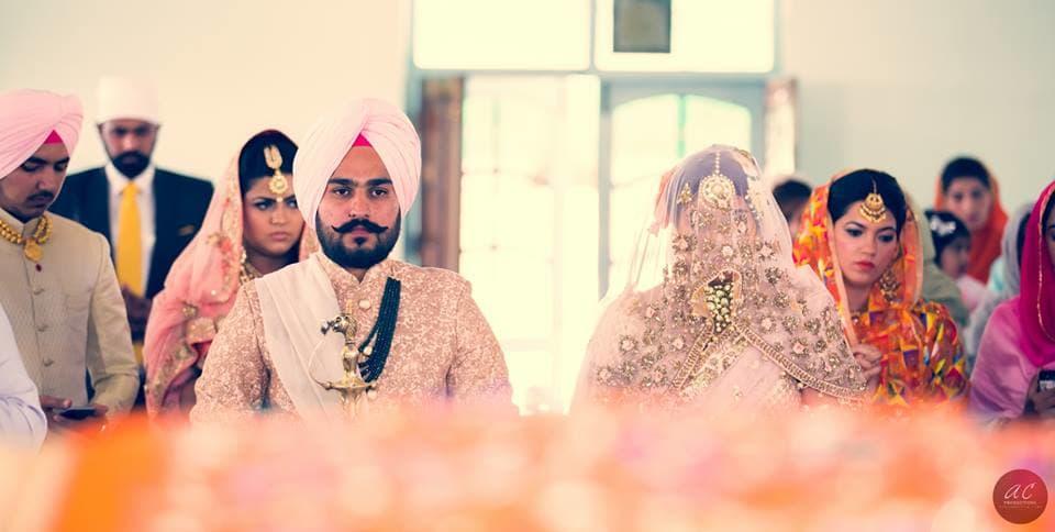 sikh wedding ritual:sabyasachi couture pvt ltd, art capture production