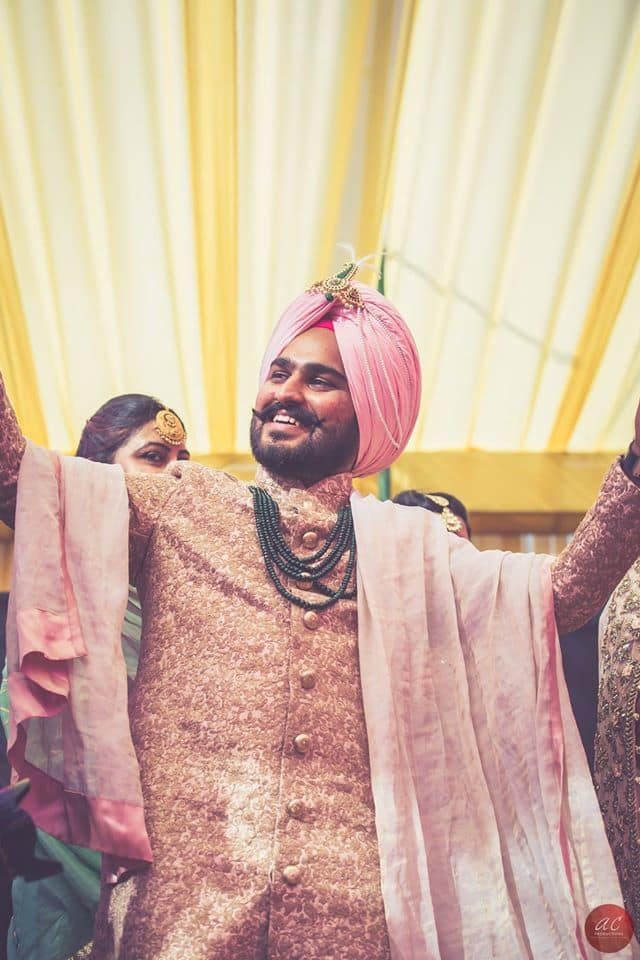 groom dancing:sabyasachi couture pvt ltd, art capture production