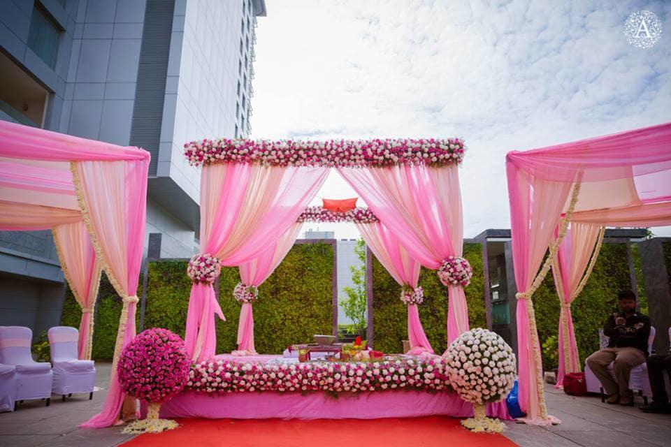 venue decoration:amour affairs