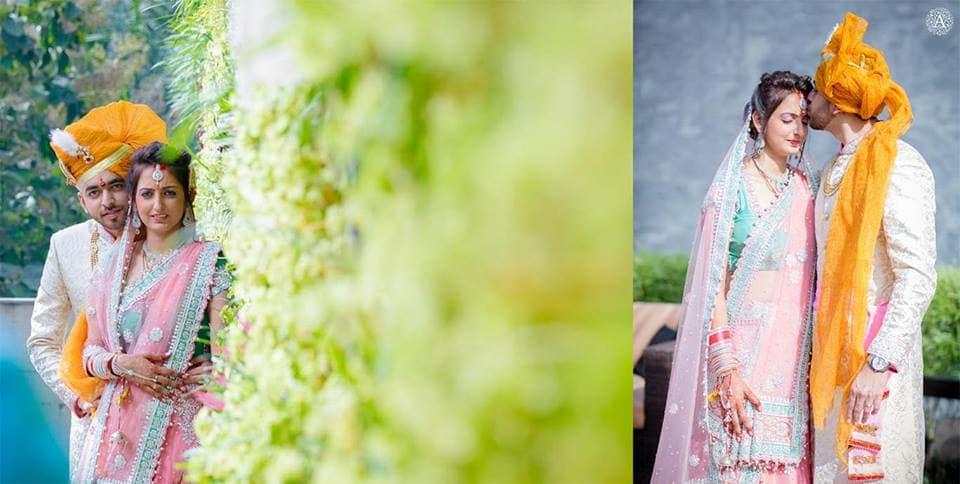 photoshoot of wedding couple:amour affairs