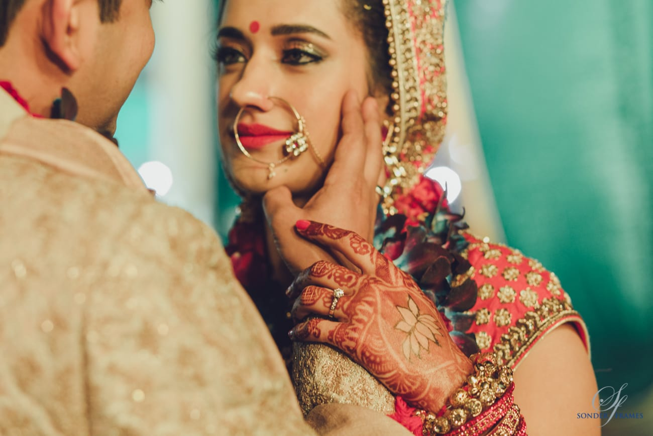 couple photography:bridal makeup by kajal sharma, sonder frames, stallion events
