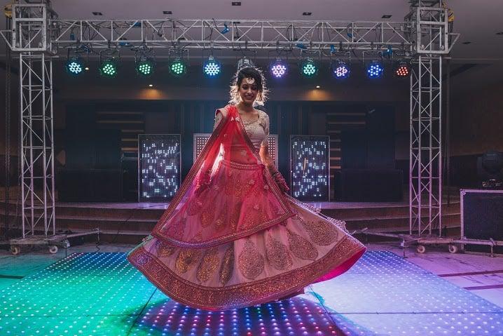 spin shot:bridal makeup by kajal sharma, sonder frames, stallion events