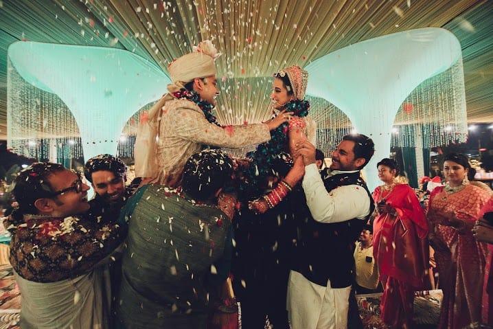 jaimala:bridal makeup by kajal sharma, sonder frames, stallion events