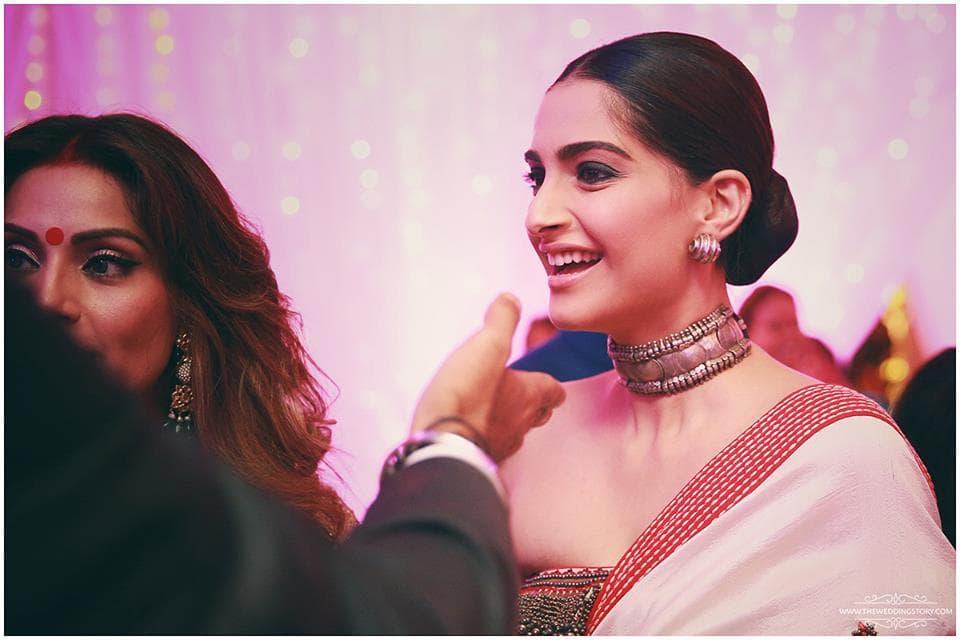 celebrity wedding:the wedding filmer, sabyasachi couture pvt ltd, anushree reddy
