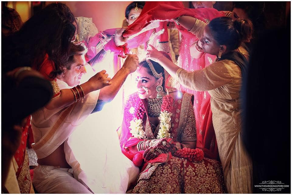 sindoor ceremony:the wedding filmer, sabyasachi couture pvt ltd, anushree reddy