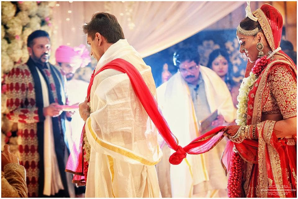 bangoli wedding ritual:the wedding filmer, sabyasachi couture pvt ltd, anushree reddy