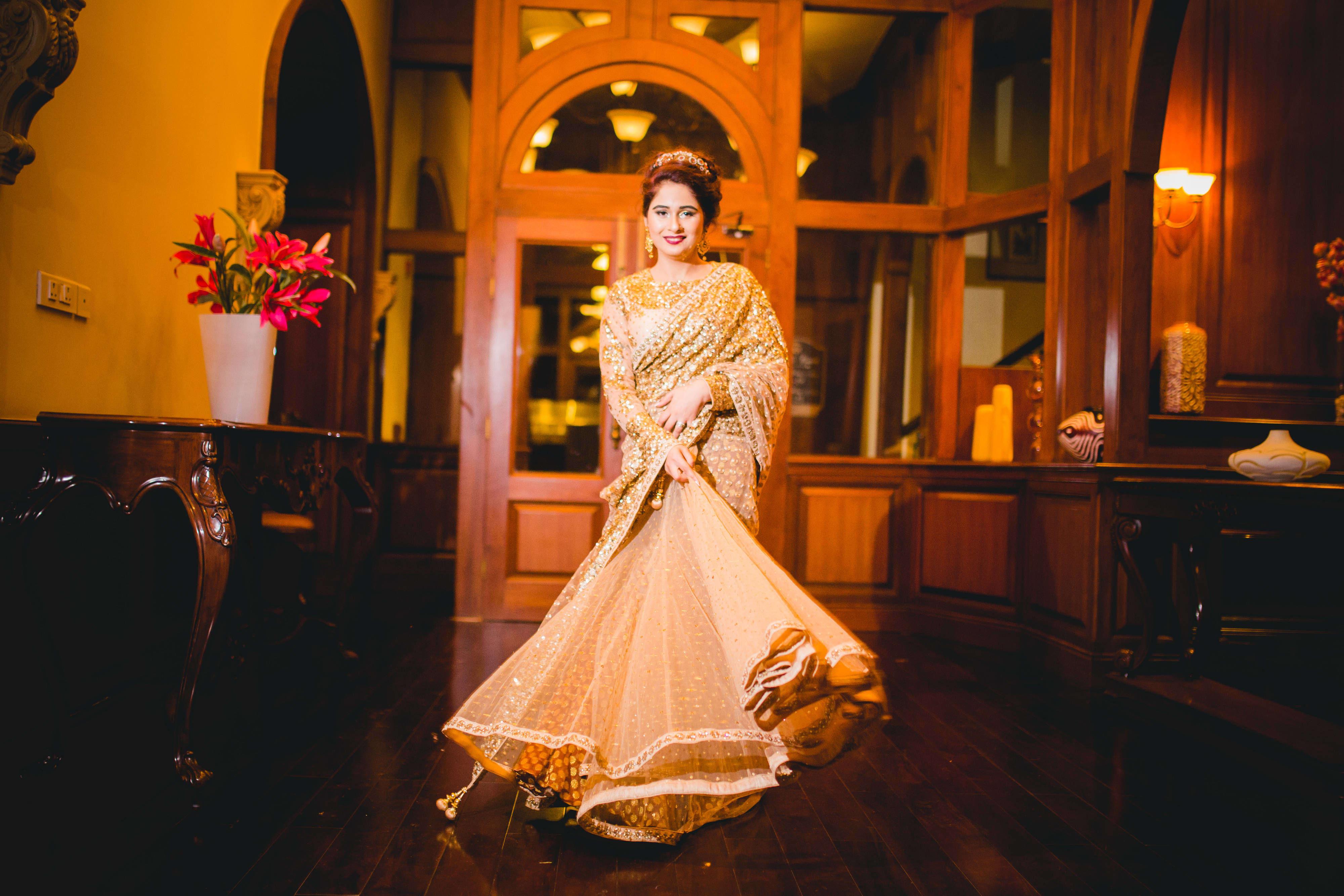 bridal spin shot:gujralsons, sabyasachi couture pvt ltd