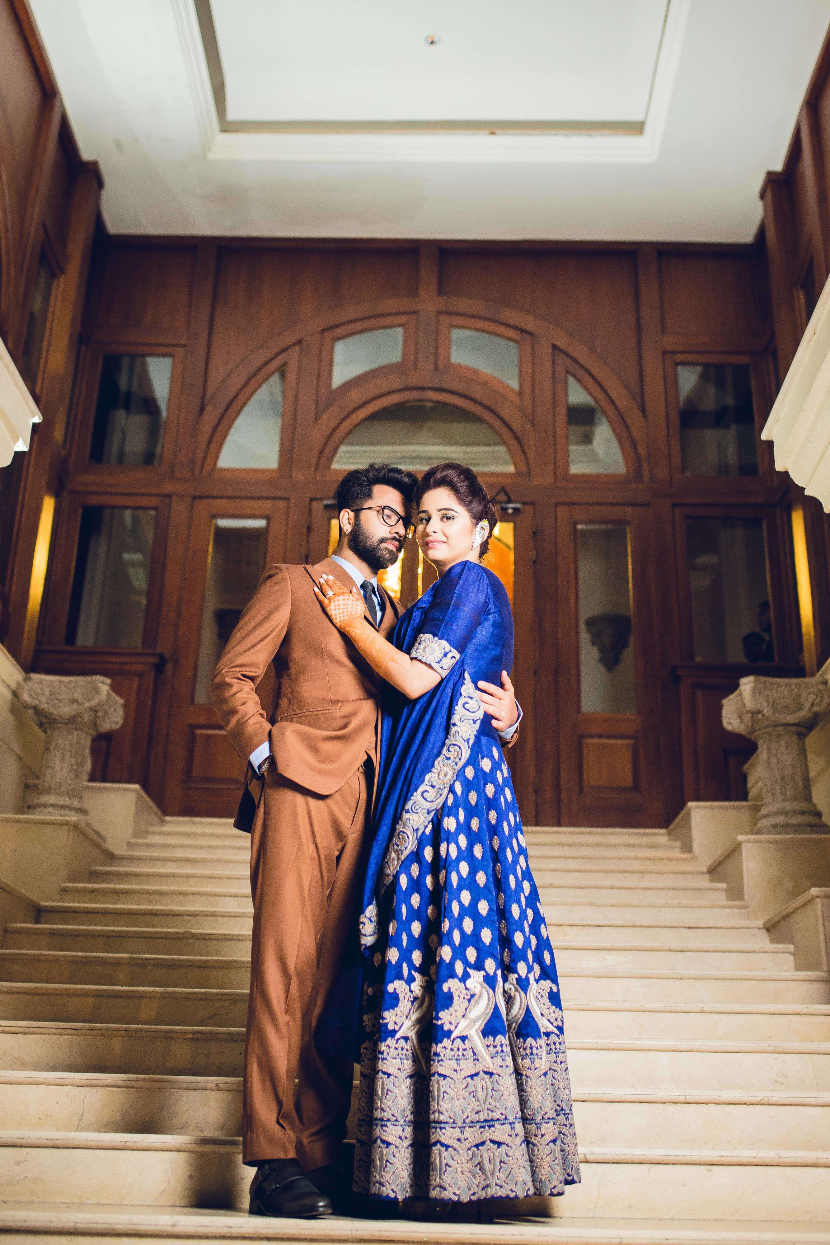 couple photograph:gujralsons, sabyasachi couture pvt ltd