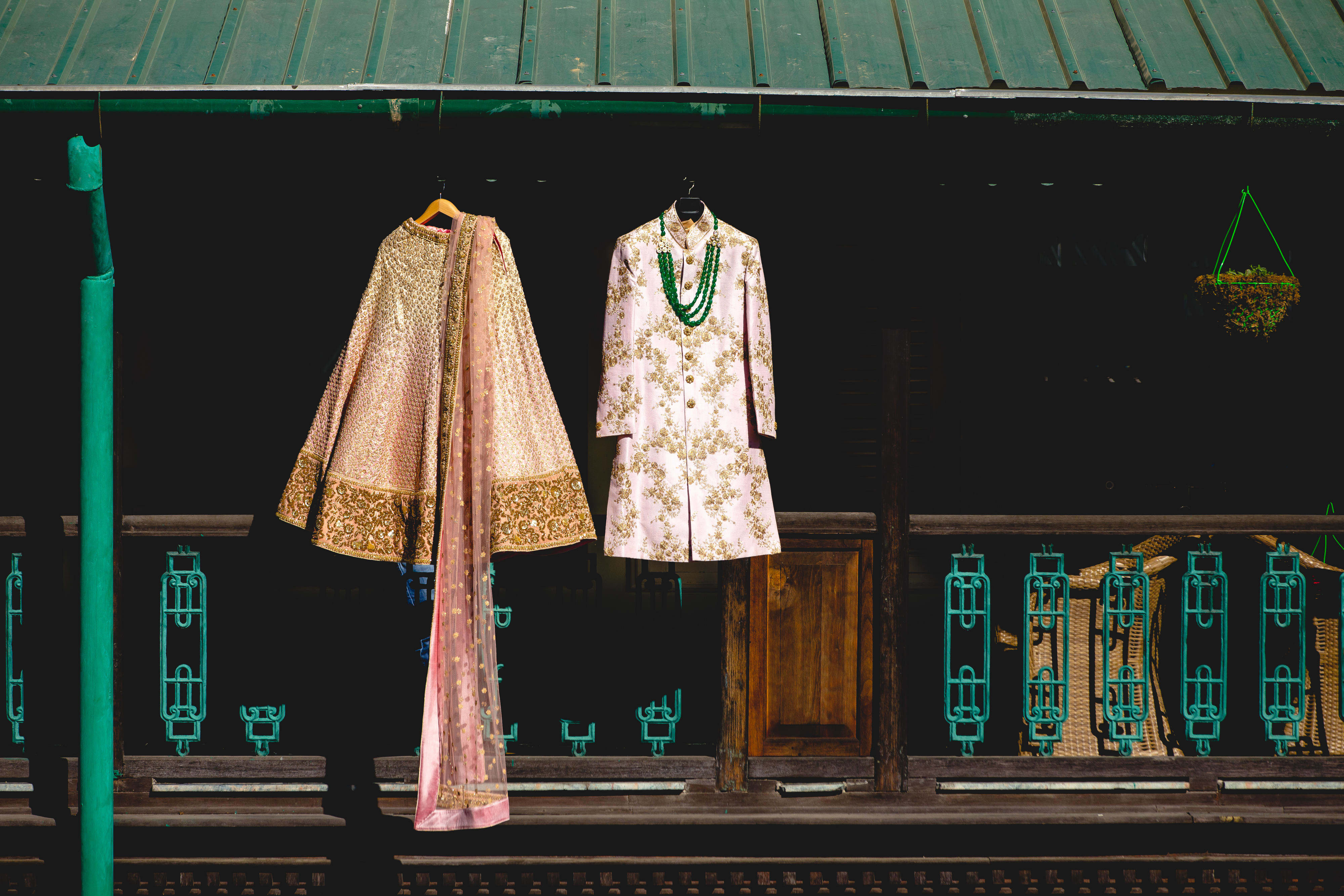 wedding outfit shot:gujralsons, sabyasachi couture pvt ltd