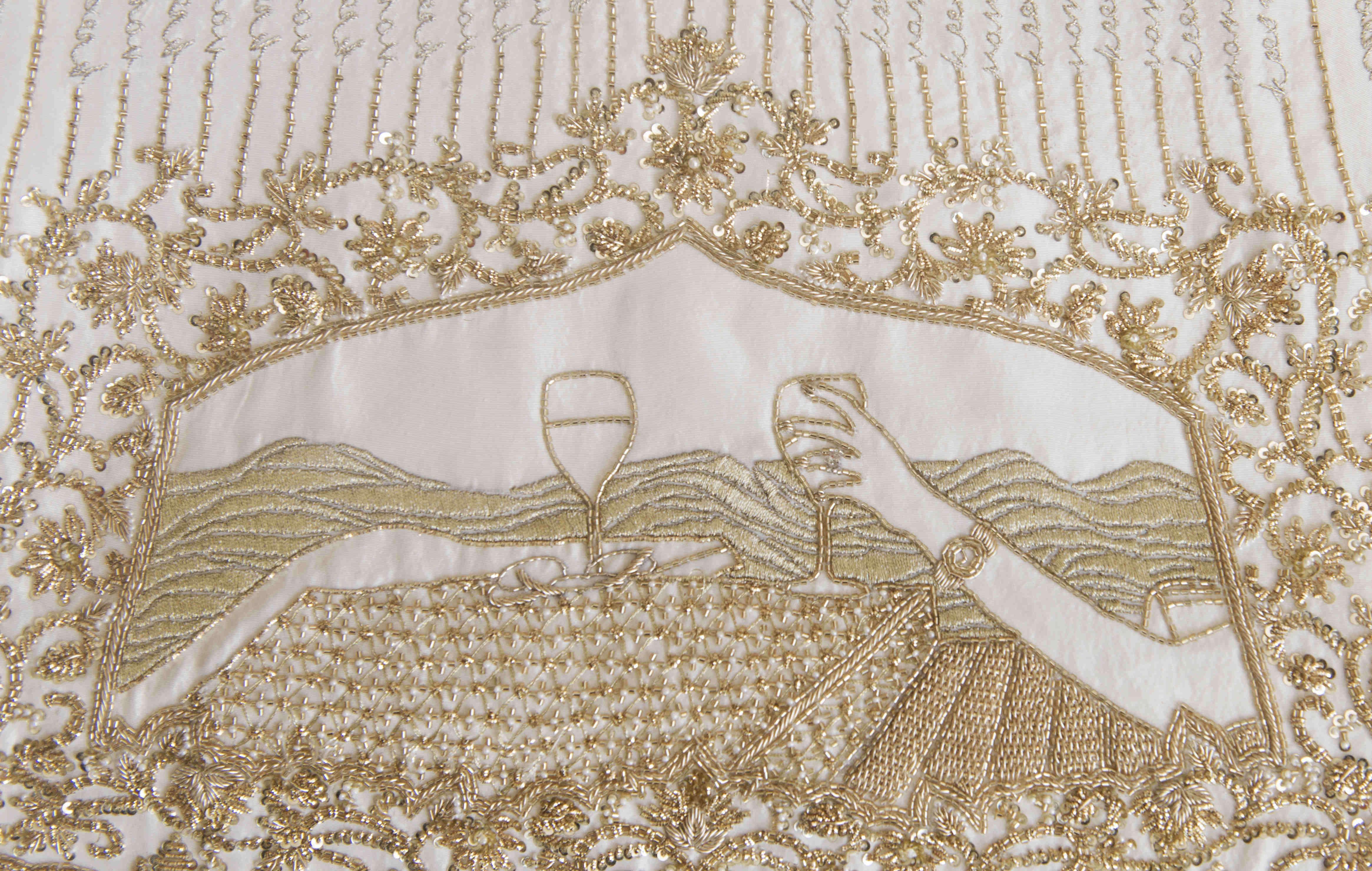 royal bridal lehenga!:tribhovandas bhimji zaveri ltd., namrata soni makup artist