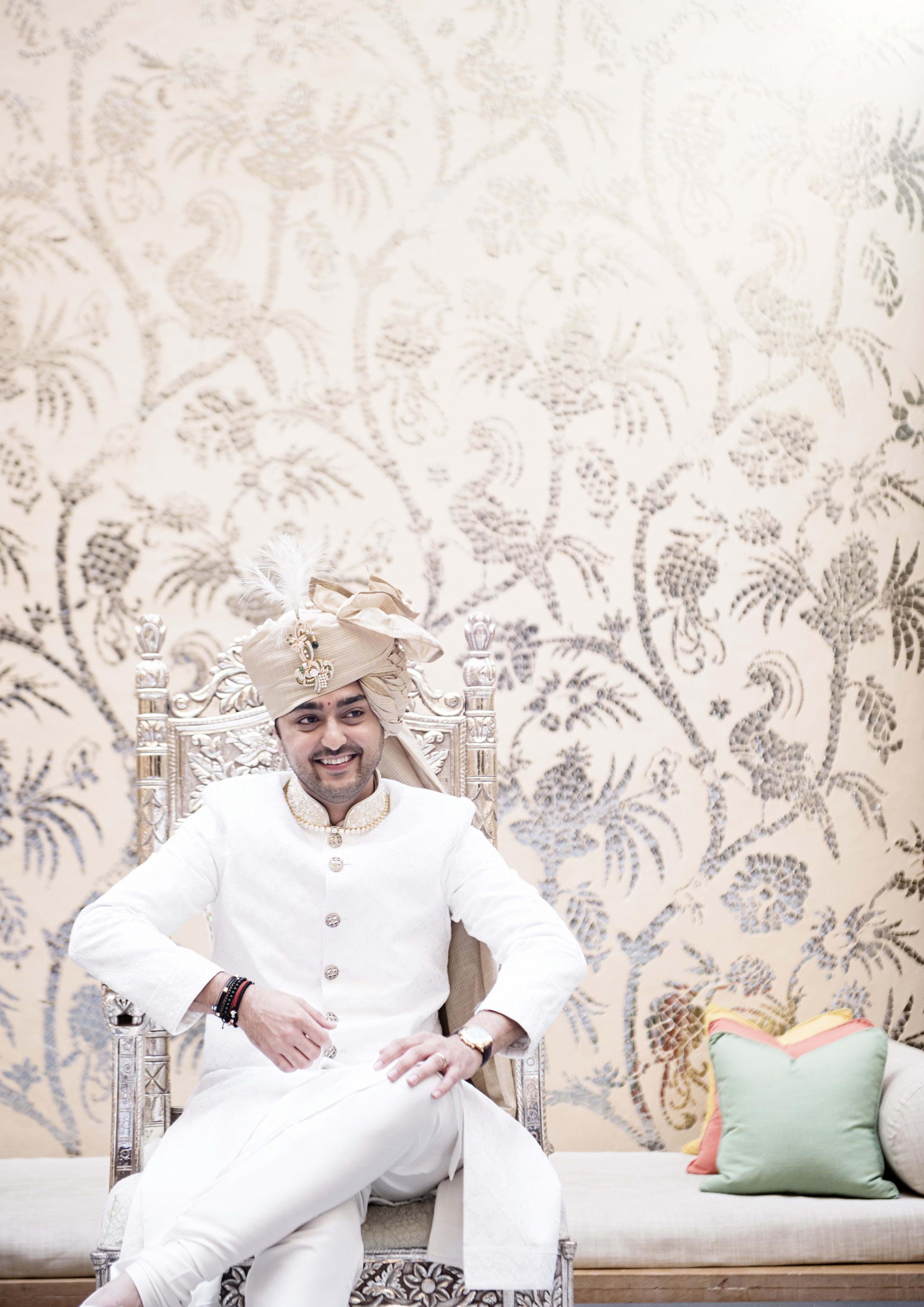 the handsome groom!:tribhovandas bhimji zaveri ltd., namrata soni makup artist