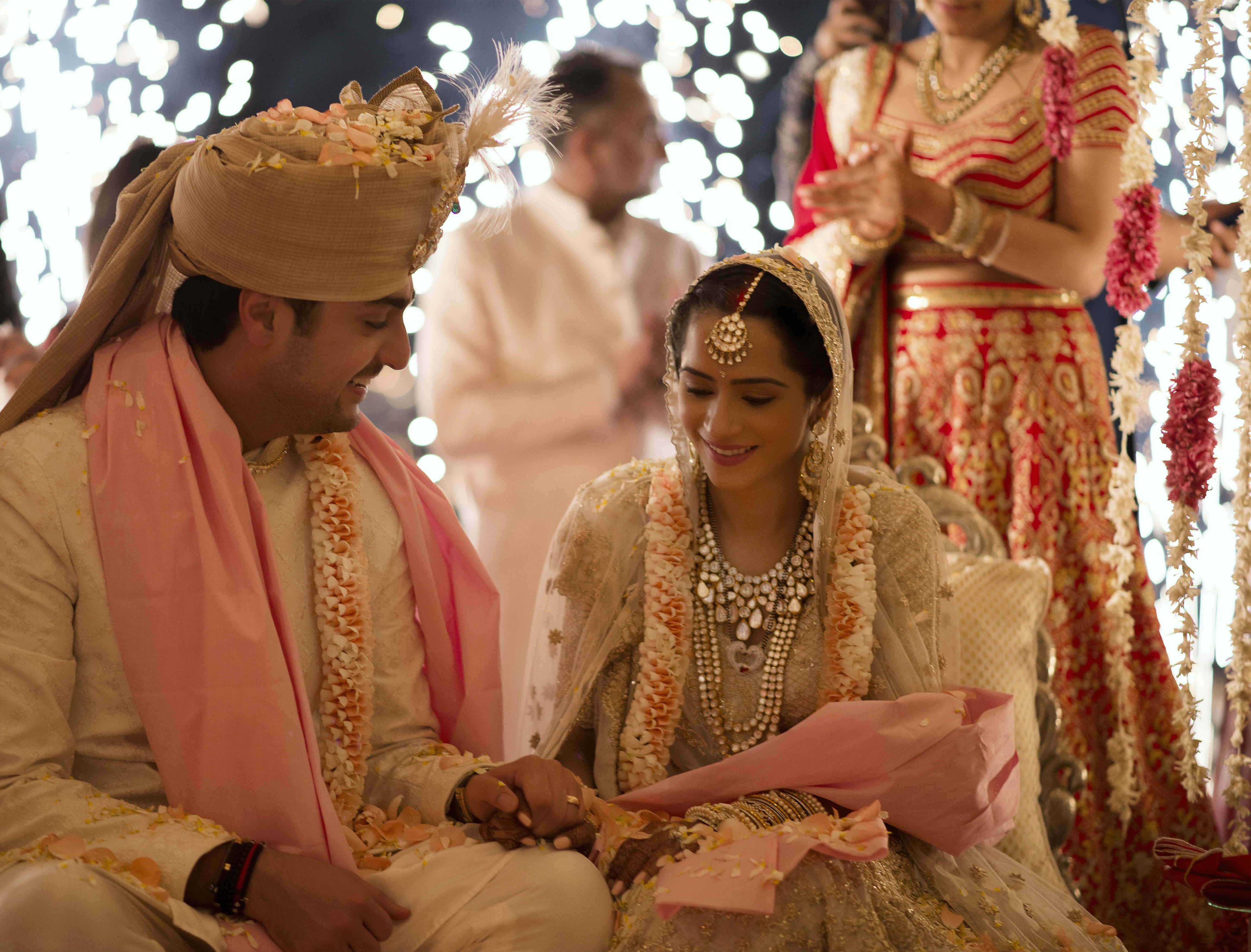 the perfect soulmates!:tribhovandas bhimji zaveri ltd., namrata soni makup artist