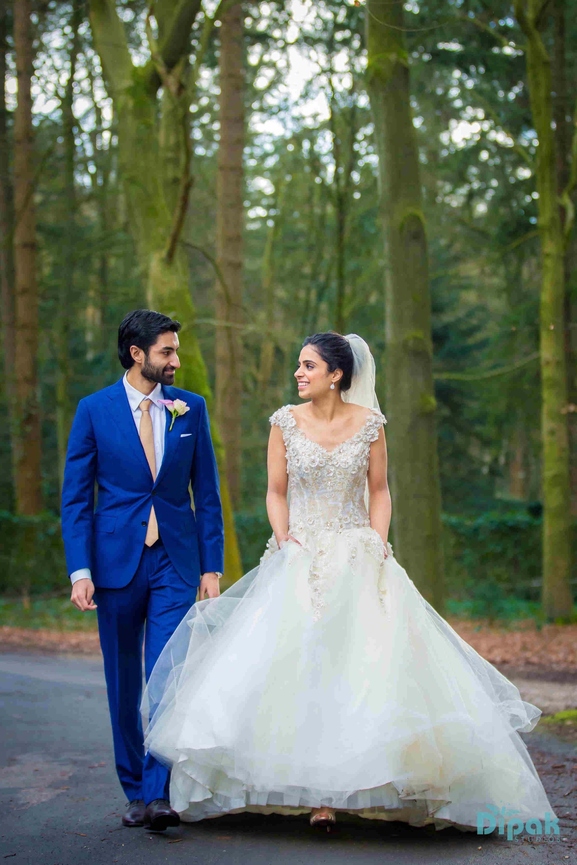 the romantic couple!:dipak colour lab pvt ltd, sabyasachi couture pvt ltd, anushree reddy