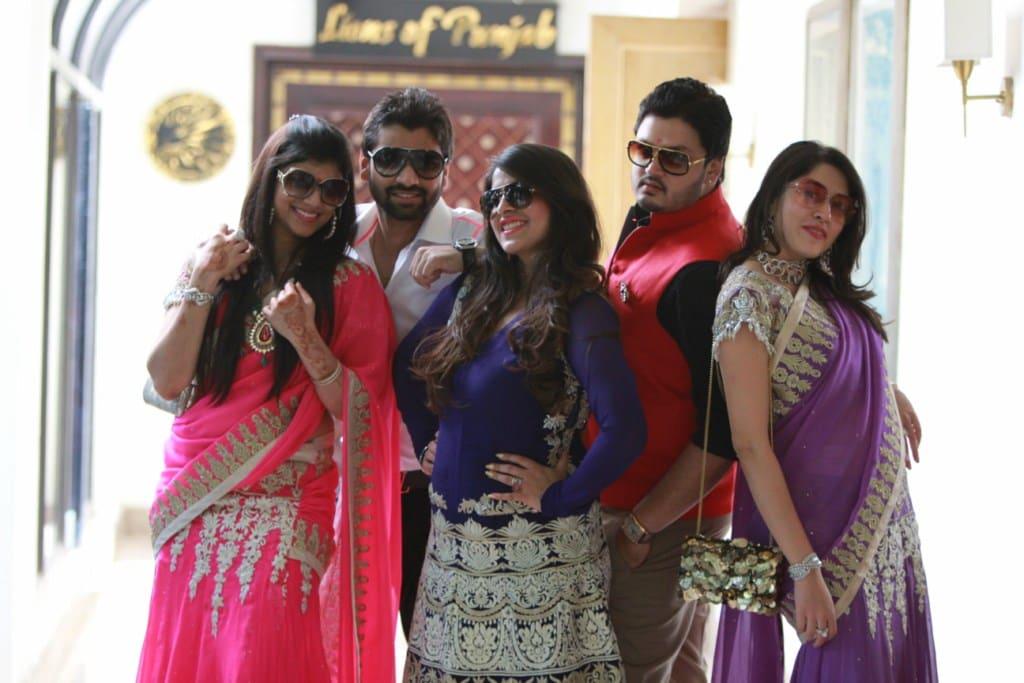 the wedding madness!:tivoli garden resort hotel, bhansali jewellers, the umrao, manish malhotra