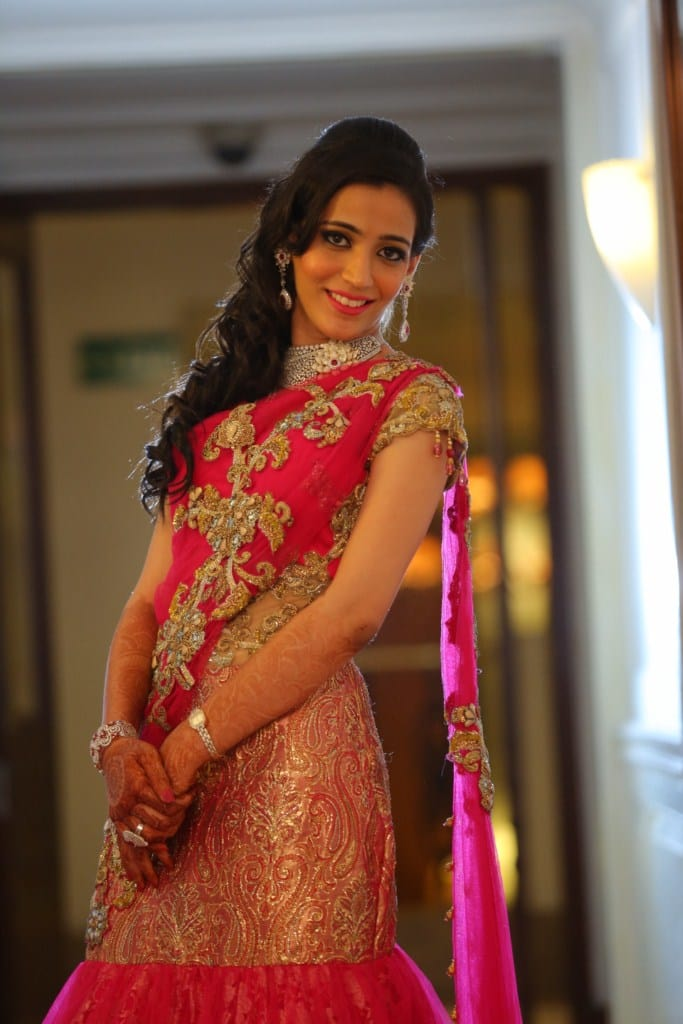 the gorgeous bride!:tivoli garden resort hotel, bhansali jewellers, the umrao, manish malhotra