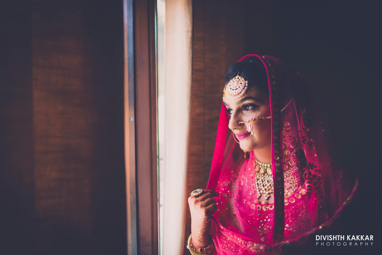 the bride!:jw marriott, taj chandigarh, divishth kakkar photography, prerna khullar makeup artist, sabyasachi couture pvt ltd, manish malhotra
