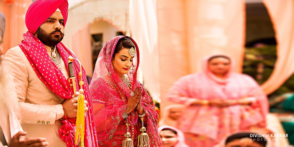 the royal couple!:jw marriott, taj chandigarh, divishth kakkar photography, prerna khullar makeup artist, sabyasachi couture pvt ltd, manish malhotra
