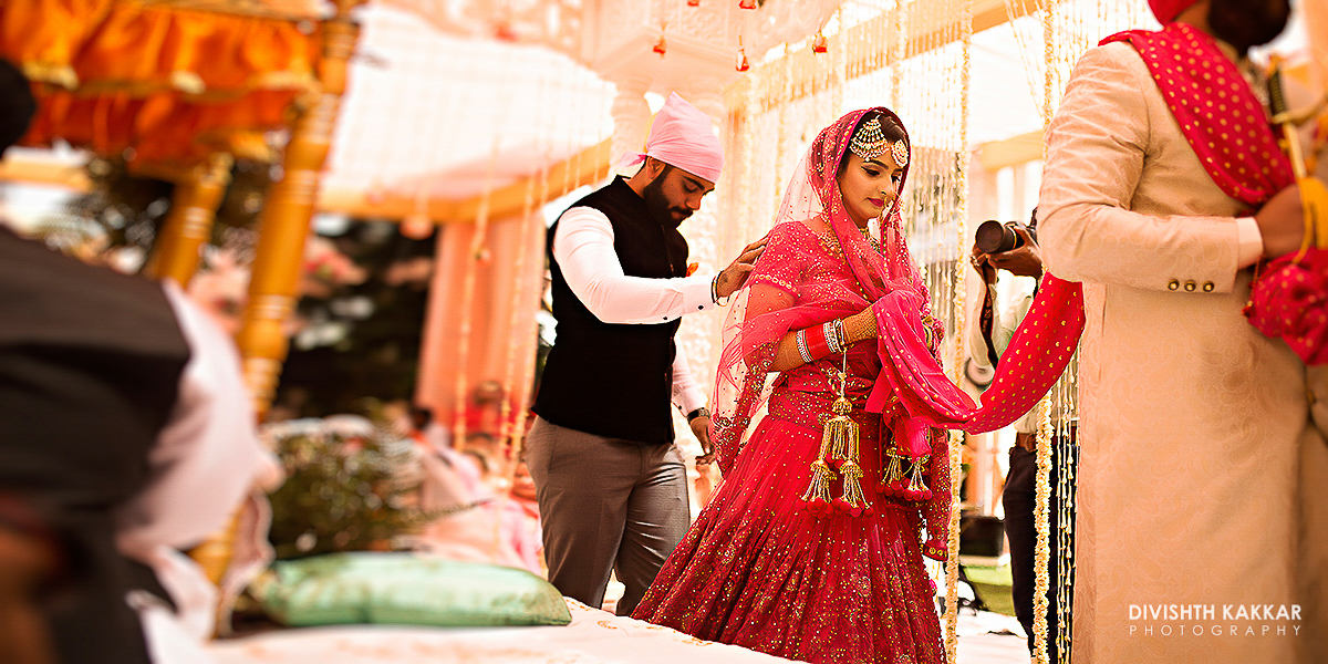 getting married!:jw marriott, taj chandigarh, divishth kakkar photography, prerna khullar makeup artist, sabyasachi couture pvt ltd, manish malhotra