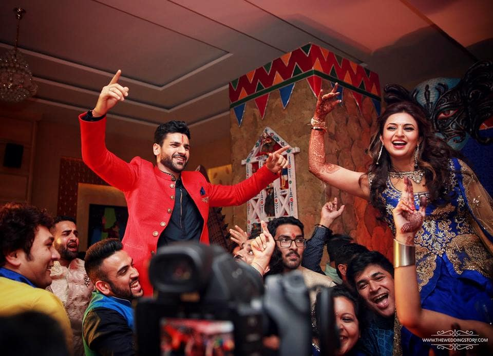 the sangeet ceremony!:the wedding story