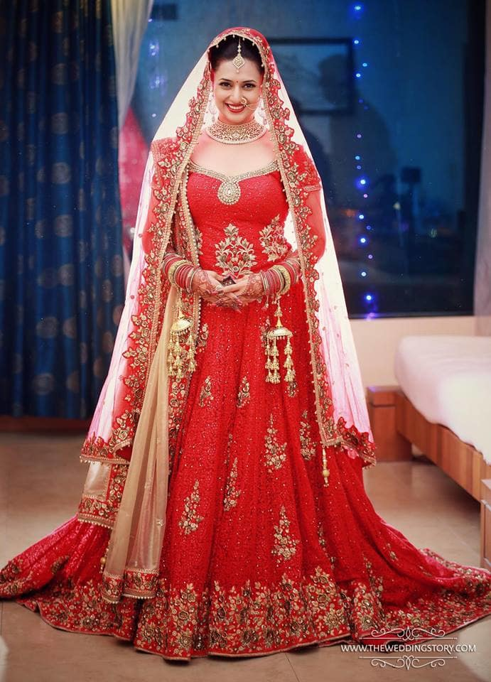 the bride divyanka!:the wedding story