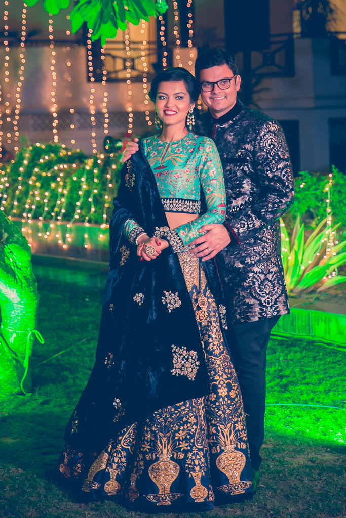 the royal couple!:kundan mehandi art, dipak colour lab pvt ltd, mahima bhatia photography, asiana couture, jasmeet kapany hair and makeup, sabyasachi couture pvt ltd