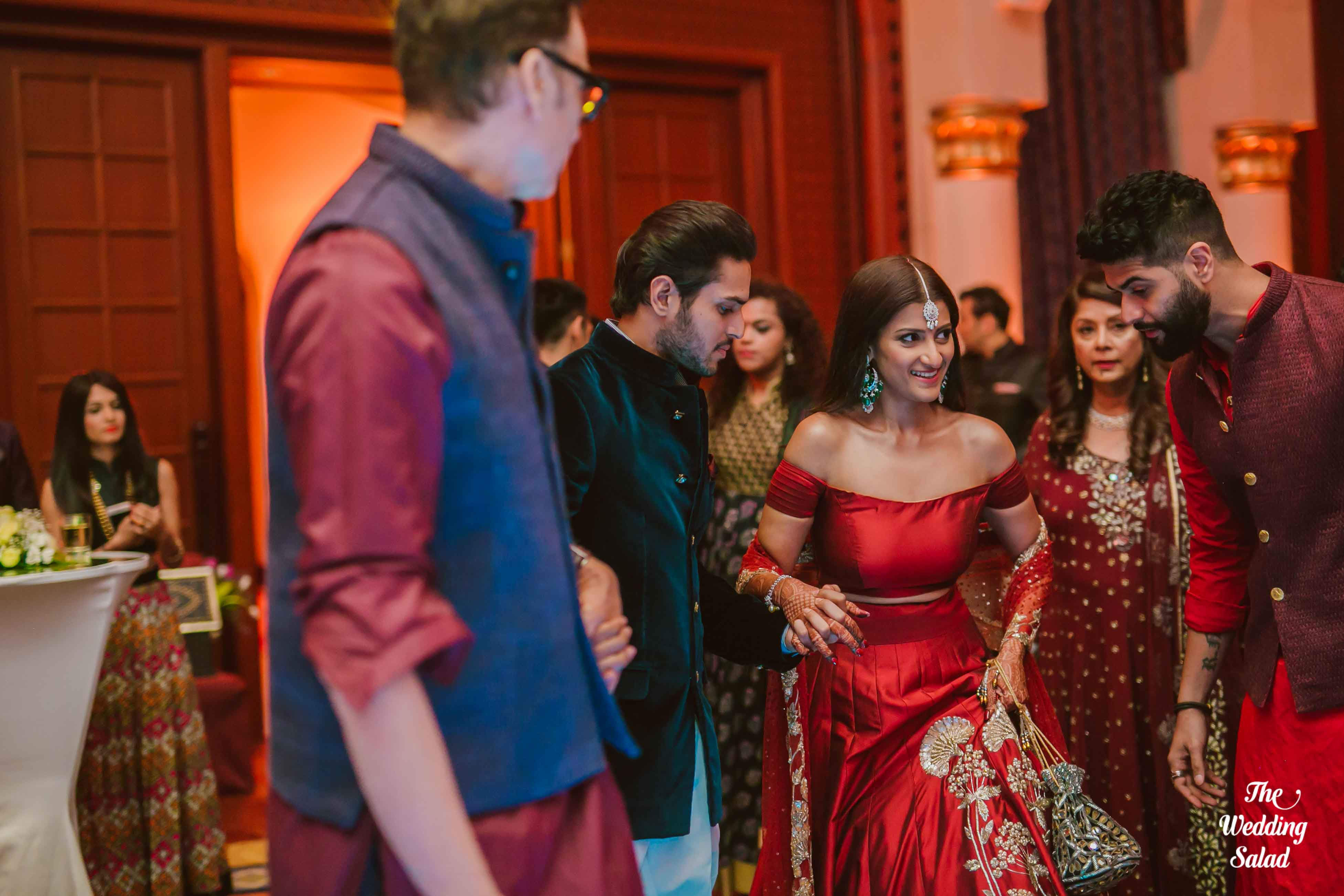 the bride sasha!:the wedding salad, manish malhotra, arpita mehta, sabyasachi couture pvt ltd