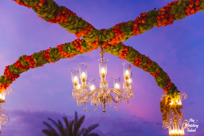 the perfect decoration!:the wedding salad, manish malhotra, arpita mehta, sabyasachi couture pvt ltd
