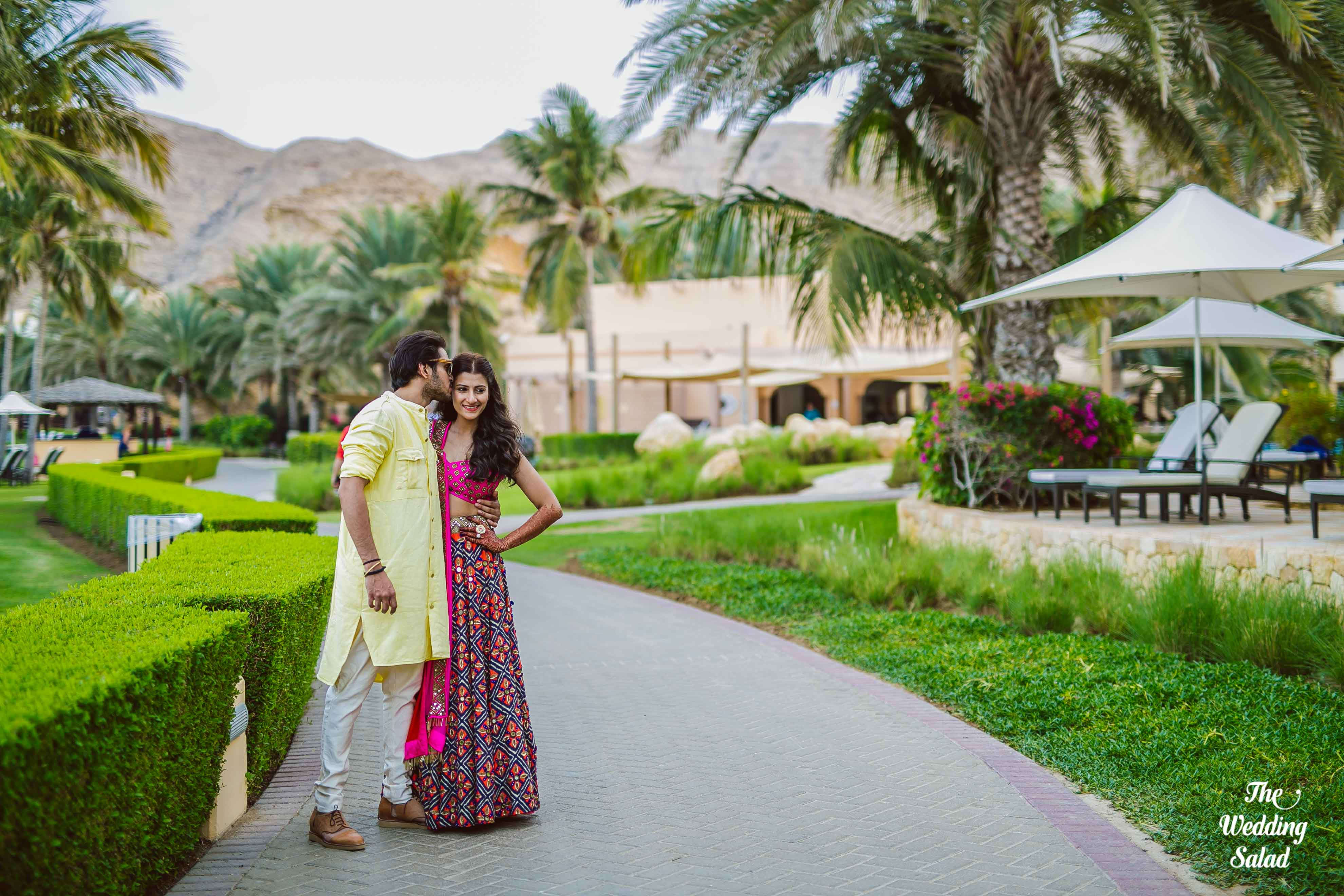 the romantic couple!:the wedding salad, manish malhotra, arpita mehta, sabyasachi couture pvt ltd