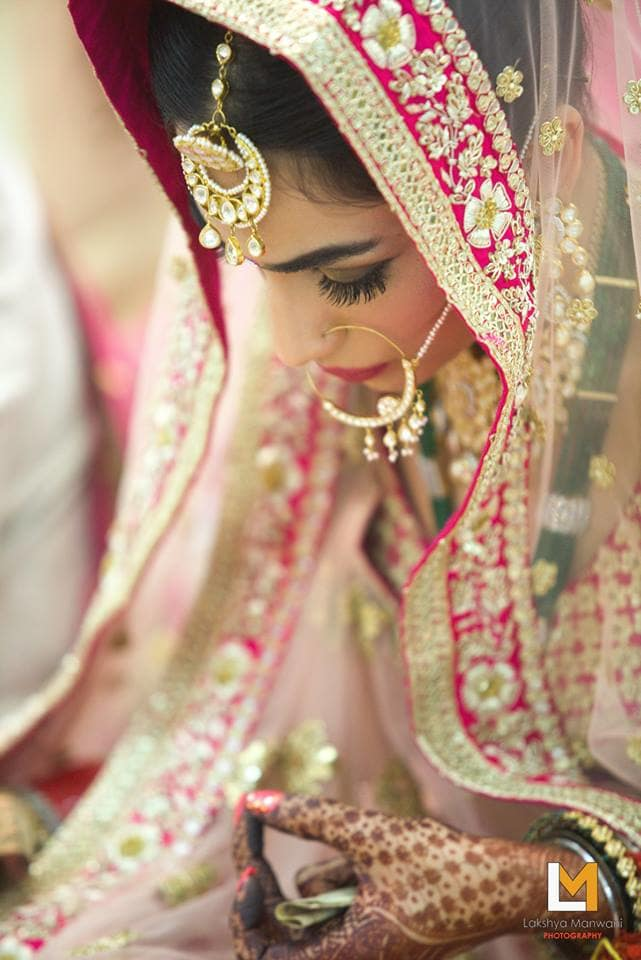 the pretty bride!:lakshya manwani photography, sabyasachi couture pvt ltd
