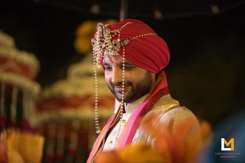 the groom navdeep!:lakshya manwani photography, sabyasachi couture pvt ltd