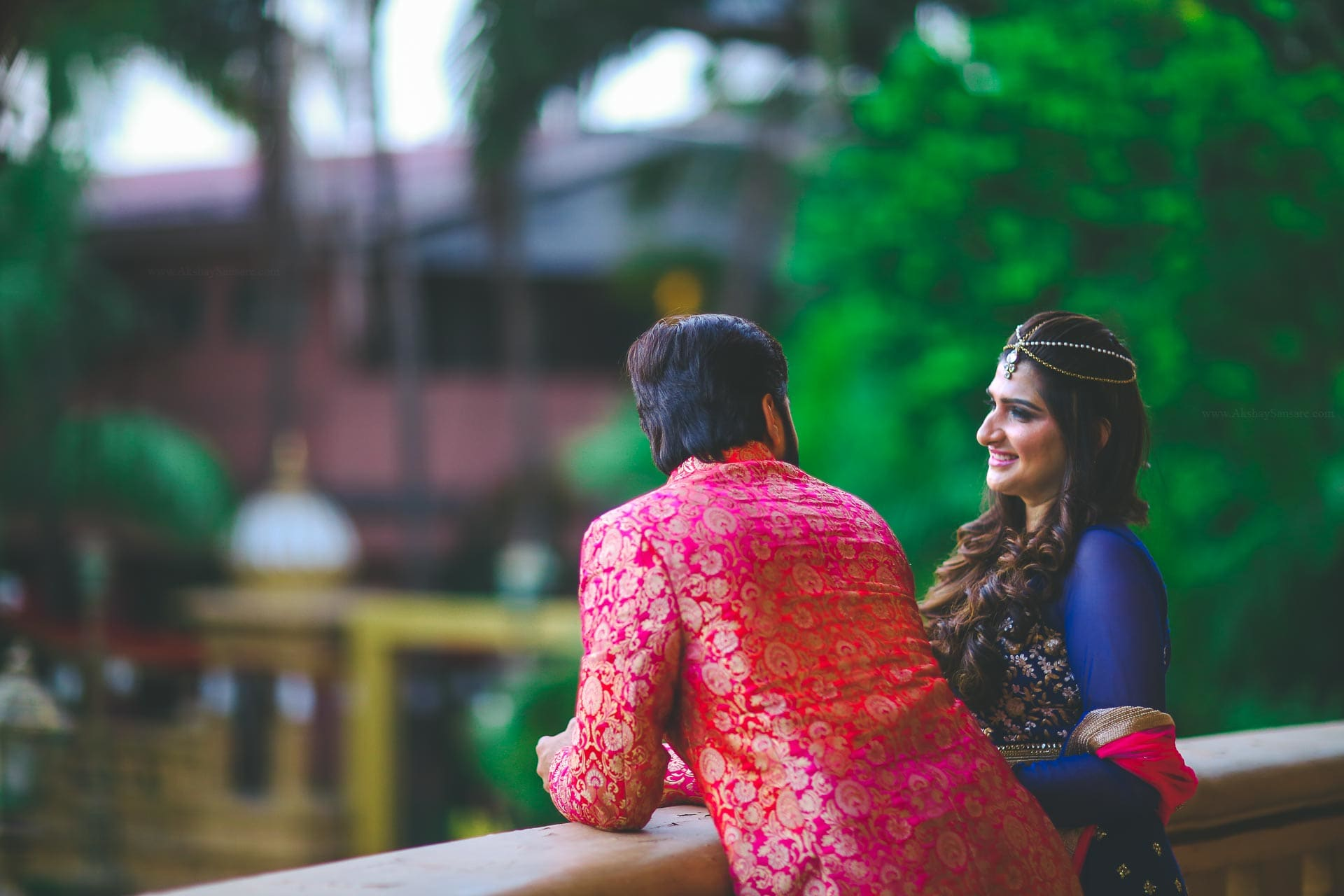 the lovebirds!:akshay sansare photography and films