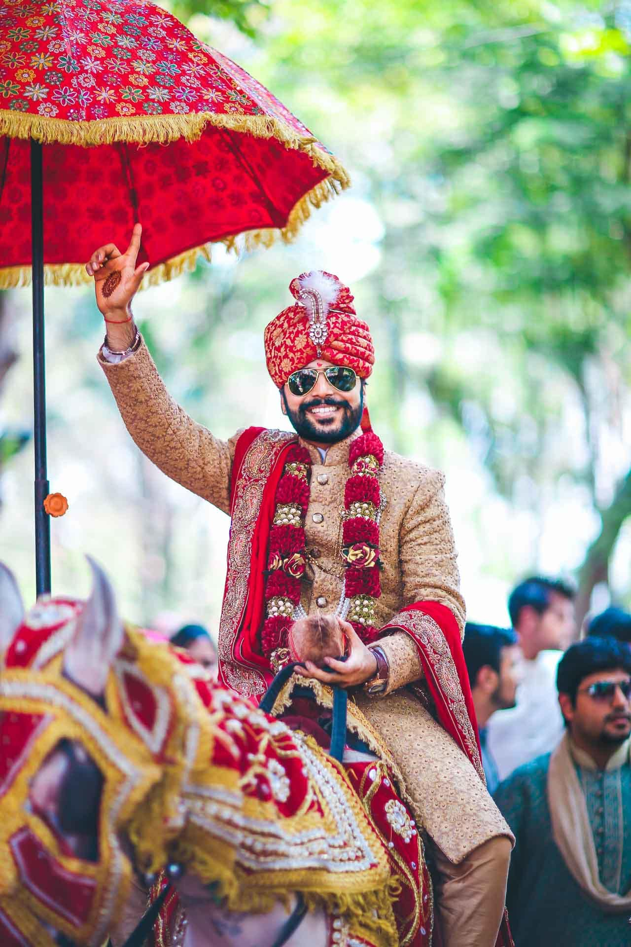 the royal groom!:akshay sansare photography and films