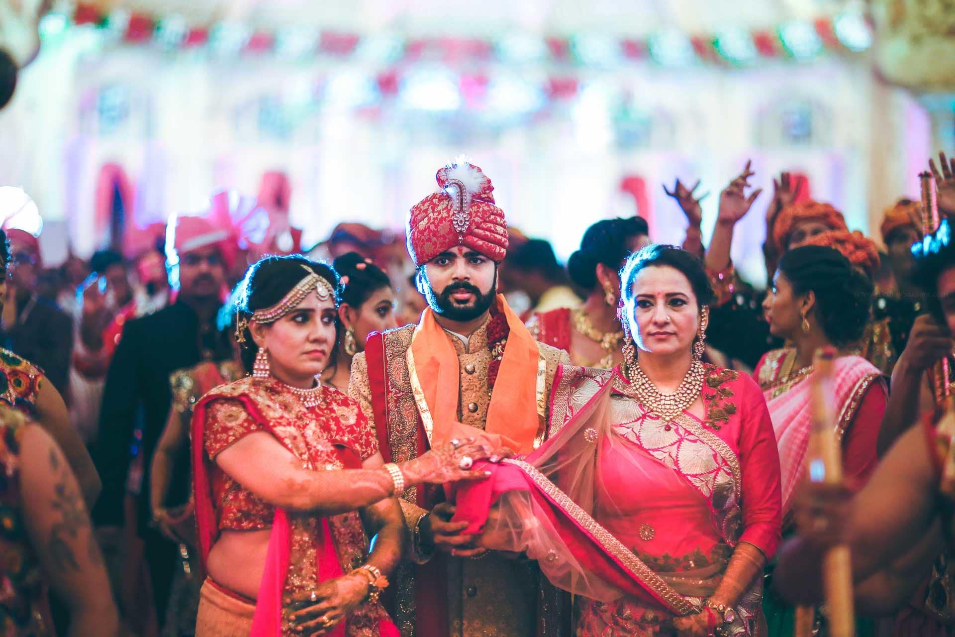 the grand wedding!:akshay sansare photography and films