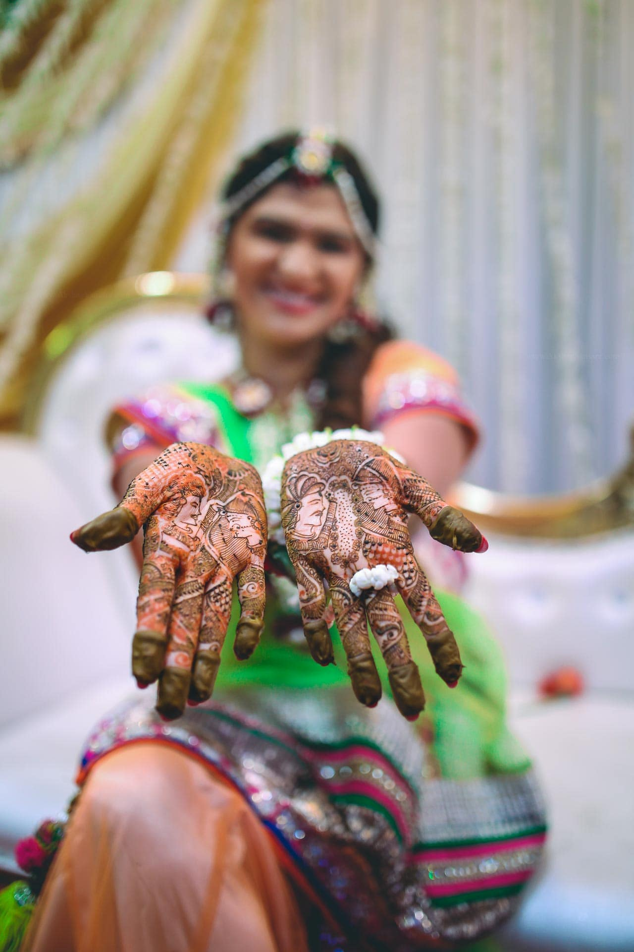 beautiful bridal mehandi!:akshay sansare photography and films