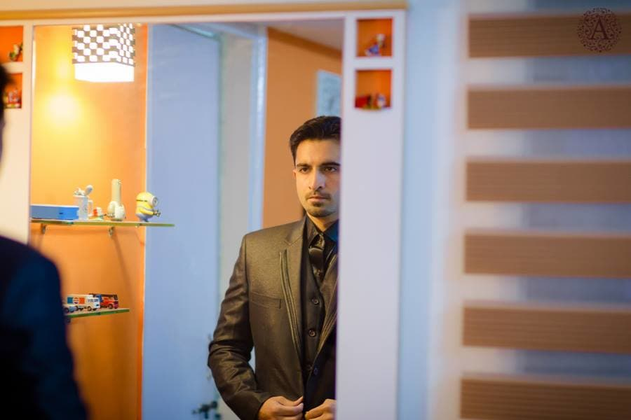 designer groom wear:amour affairs