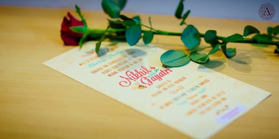 beautiful invitation cards:amour affairs