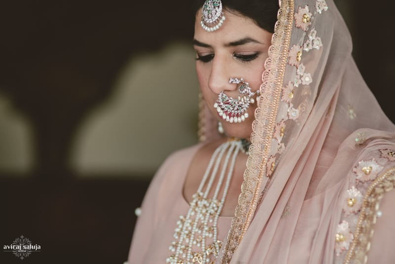 the royal bride!:aviraj saluja, nancy bhaika, hair and makeup by zareen bala, chandni tent house