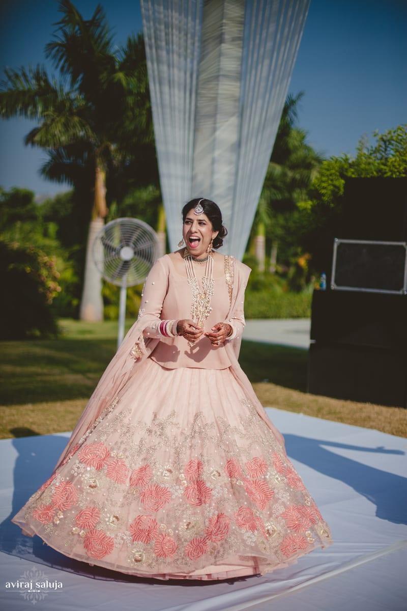 the pretty bride!:aviraj saluja, nancy bhaika, hair and makeup by zareen bala, chandni tent house