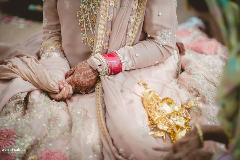 mesmerizing bridal accessories!:aviraj saluja, nancy bhaika, hair and makeup by zareen bala, chandni tent house