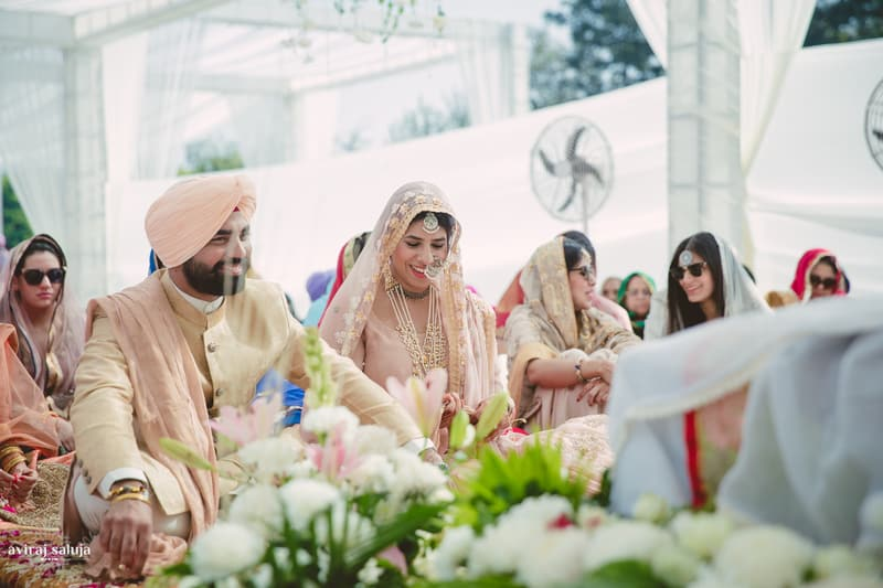 jai & april!:aviraj saluja, nancy bhaika, hair and makeup by zareen bala, chandni tent house