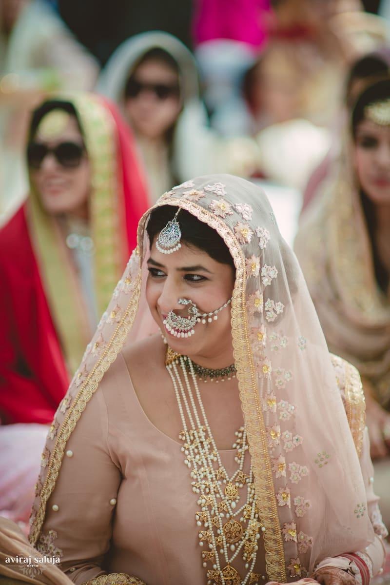 the bride!:aviraj saluja, nancy bhaika, hair and makeup by zareen bala, chandni tent house