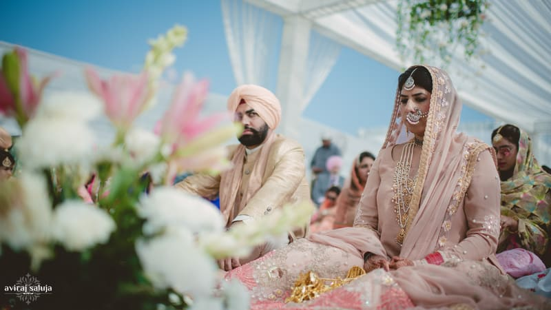 the perfect couple!:aviraj saluja, nancy bhaika, hair and makeup by zareen bala, chandni tent house