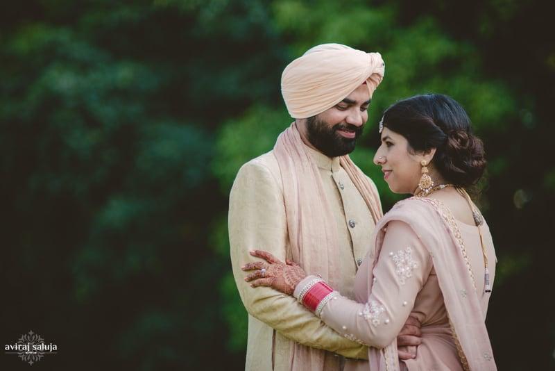 the perfect couple!:aviraj saluja, nancy bhaika, hair and makeup by zareen bala, chandni tent house