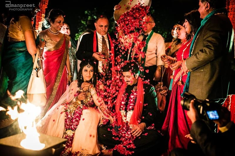 the grand wedding!:geetanjali salon, raju mehandi wala, amanpreet photography, ole couture