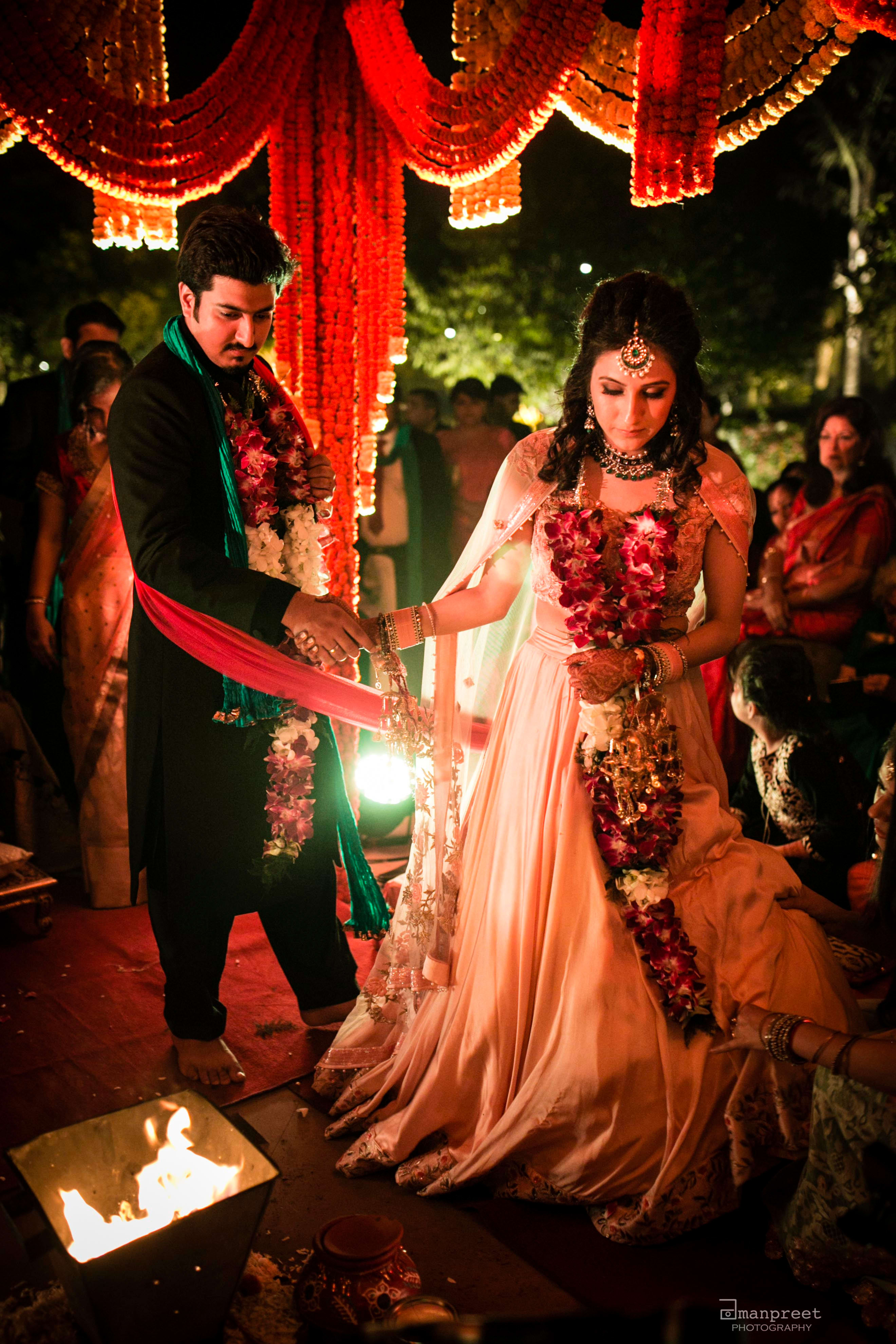 pranay & kriti!:geetanjali salon, raju mehandi wala, amanpreet photography, ole couture